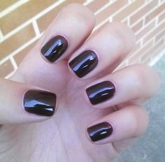 Essie Material Girl.  Similar to Essie Wicked but slightly darker.  Really wanting to do my nails!:)