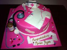 Nurse Cake for graduation