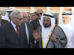 سلطان القاسمي يزور الفعاليات المصرية ضمن أسابيع التراث الثقافي العالمي في الشارقة | الشارقة24
