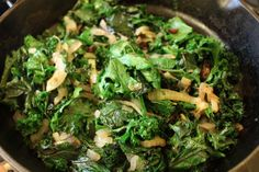 simple cookery:braised greens~ by Melody of Little Home Blessings