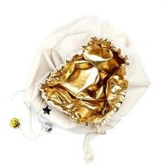 Image of Gold Christmas Sack - Reversible Gold Christmas, Bags, Handbags, Taschen, Purse, Purses, Bag, Totes, Pocket