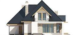 Projekt domu Amira G1 153,04 m2 - koszt budowy - EXTRADOM Modern Bungalow Exterior, Comfort Zone, Home Fashion, House Plans, Villa, House Design, Outdoor Furniture, Mansions, Architecture