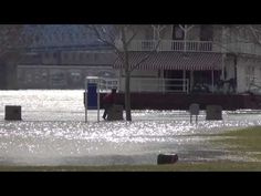 Man Walks on Water? Not Really! -- River Flood Stage - Quick Video Clip - YouTube