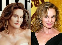 Jessica Lange Thinks Caitlyn Jenner Resemblance Comparisons Are ''Wonderful''! Read Her Reaction  Bruce Jenner, Caitlyn Jenner, Jessica Lange