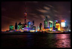Shanghai's Pudong skyline