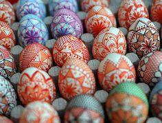 Czech Easter Eggs