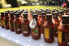 Dinosaur BBQ Sauce Favors. Pridmore Event Planning & Design: 20 Clever (and Totally Do-Able) DIY Favors Your Guests Will Actually Love!