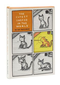 The Cutest Sneeze in the World: 30 Cat Postcards