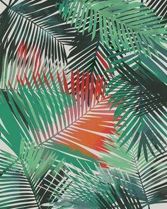 Yolanda Fronda // Allison Holdridge #tropical #pattern #surfacedesign