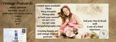 Find out how to prepare for your photo session http://margsphotography.com/vintage-postcards-mini-photo-session/