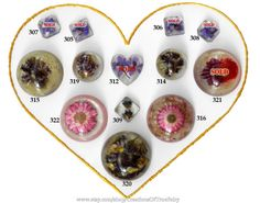 Unique handmade cabochons from high quality jewelry resin with real plants, flowers & sea shells. Every cabochon is OOAK, I make them in a single copy.  In the presence of ... #scrapbooking #metaphysical