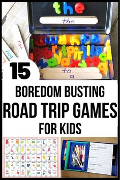 Fun variety of free road trip games - guaranteed to keep kids entertained and having fun! #roadtrip #roadtripgames #roadtripwithkids #boredombuster #travel #freeprintable Road Trip With Kids, Family Road Trips, Travel With Kids, Family Travel, Road Trip Games, Road Trip Activities, Perfect Road Trip, On The Road Again, Jokes For Kids