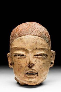 Museo Nacional de Antropología Cabeza de Gualupita, Mor. Preclásico (2,600 a. C.-200 d.C.
