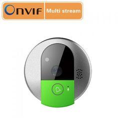 C95 WIFI Wireless Doorbell 720P CMOS Sensor Doorcam Two Way Audio/Video/Mobile View IP Indoor Camera Wholesale:60.46USD/PC
