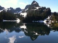 Upper Lena Lake, 14 minutes out of Hoods Port, WA
