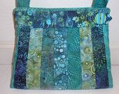 Turquoise Sea Batik  Bag