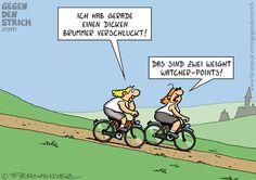 Radfahren im Sommer, wer kennt das nicht... #Fernandez #GegenDenStrich #hwg