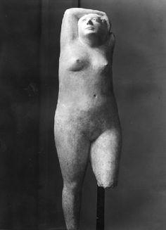 FRANCESCO SOMAINI, La Bagnante, 1948-49, gesso, cm 190