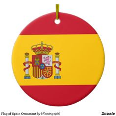 Flag of Spain Ornament