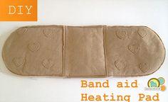 Wrap Around Bandage DIY Microwave Heating Pad