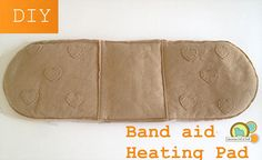 Wrap Around Bandage DIY Microwave Heating Pad