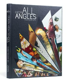 Dixon High School (Dixon, CA) | 2015 Yearbook Cover | Theme: From All Angles | Printed by Herff Jones