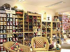 American yarn store Wool Shop, Yarn Shop, Knitting Room, Knitting Yarn, Craft Studios, Yarn Organization, Yarn Storage, Yarn Stash, Shop Window Displays