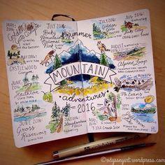 ::sketchbook and travel journal inspiration:: More