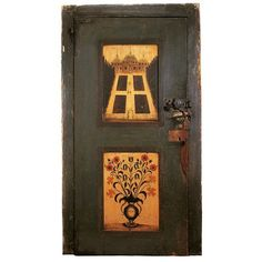 Door from the Cornelius Couwenhoven House Daniel Hendrickson Pleasant Valley, Oldies But Goodies, Cornelius, White Oak, Art Museum, Folk Art, Art Decor, Primitive, Pine