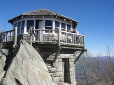 Fire Tower Cabins On Pinterest