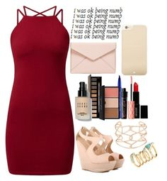 """""""I dance to escape the pressures of life"""" by shea-erin ❤ liked on Polyvore featuring Alexis Bittar, H&M, Clarins, Lord & Berry, Bobbi Brown Cosmetics, Benefit, Smashbox, Rebecca Minkoff and Kate Spade"""