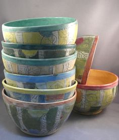 More beautiful works by dbabcock #birch #home #ceramics #kitchen #bowls