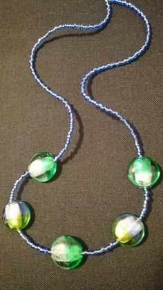 Murano bead necklace