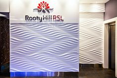 The amazing illusion of Reflections fill the main foyer of Rooty Hill RSL 3d Wall Panels, Foyer, Illusion, Reflection, Fill, Amazing, Projects, Log Projects, Foyers