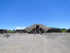 Calçada dos Mortos - Teotihuacan - México