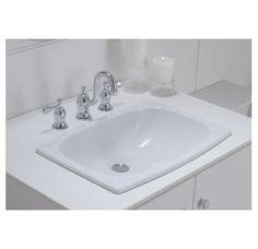 Cheviot 1180 Estoril Drop In Basin Self Bathroom Sink Sinkwhether You Are Restoring A Heritage
