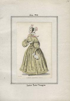 Ladies' Pocket Magazine July 1836 LAPL