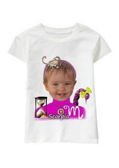 Scorpio Girl personalized T-shirt www.ghigostyle.com