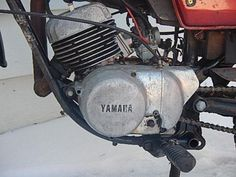 Yamaha-DT125A-DT-125-Enduro-Vintage-Motorcycle-Parts-Bike-Project-Will-Ship-1974