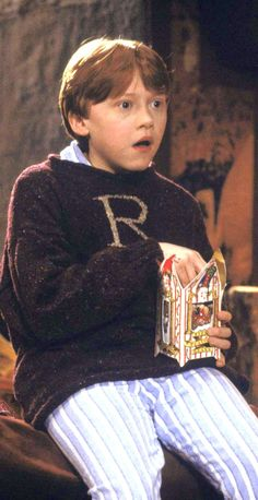 Ronald Weasley, the boy who stayed at Hogwarts for Christmas because his best friend didn't have a home to go to.