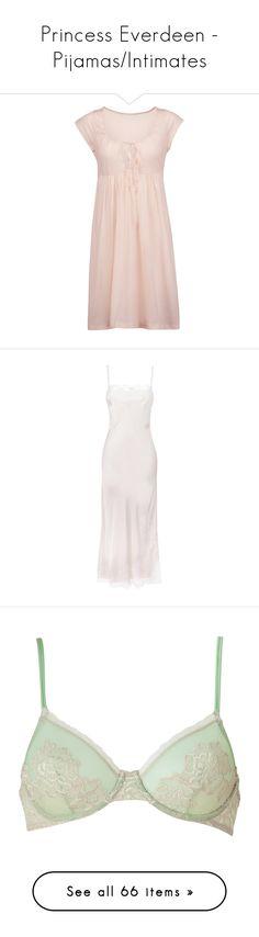 """Princess Everdeen - Pijamas/Intimates"" by marymariamary ❤ liked on Polyvore featuring intimates, sleepwear, nightgowns, pastel pink, pink sleepwear, cotton jersey, pink nightie, bodas, cotton jersey nightgown and dresses"