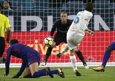 Mateo Kovacic pulled a goal back for Real Madrid when his right-footed strike beat Barcelona goalkeeper Jasper Cillessen