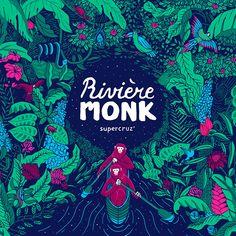 VO | Valérie Oualid : Agent d'illustrateurs | Beax | Rivière Monk Movie Posters, Illustration, Monk, Art, Poster