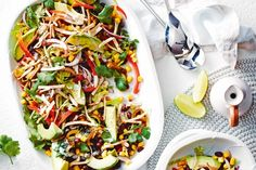 Short on time? This Mexican black bean salad is full of flavour and can be ready in just ten minutes!
