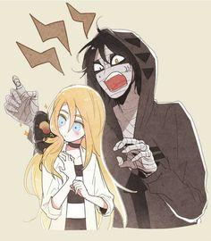 {Angels Of Death} Zack and Ray<< also known as kawaii ships Angel Of Death, Manga Angel, Manga Romance, Mad Father, Fanart, Rpg Horror Games, Satsuriku No Tenshi, Cute Anime Couples, Yandere