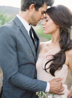 Lovely wedding hair idea