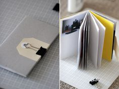 Pretty mini sewn notebook. I have an obsession with all things paper, so I think I'm going to try this!