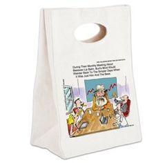 #Funny #BurtsBees #Parody #Cartoon On #Canvas #Lunchbag by @LTCartoons #cafepress #humor #cosmetics #honey @pinterest #sale #gift