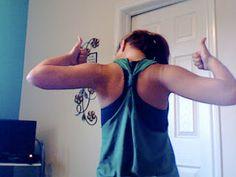 Do it in a Dash: DIY T-Shirt to Tank Tutorial | A Dash of Sarah