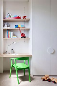 Itsy bitsy rooms can feel large and open - with a little bit of design magic. Australian Interior Design, Interior Design Awards, Big Design, House Design, Design Ideas, Study Nook, Bedroom Cupboards, Small Bedroom Designs, Kids Bedroom